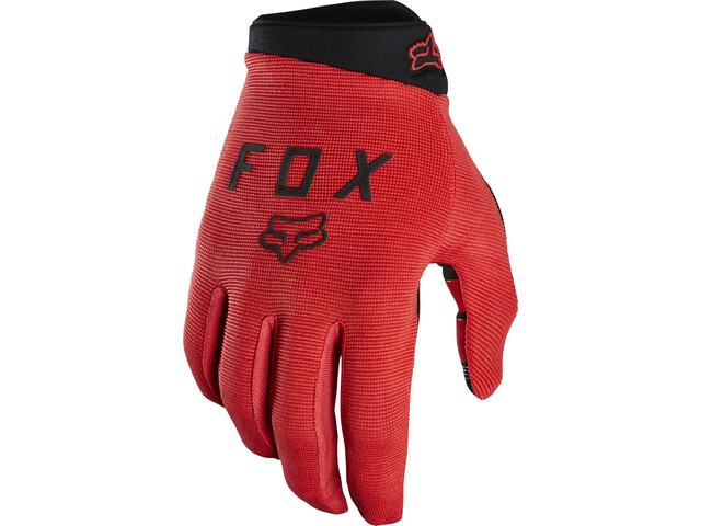Fox Ranger Gloves Jugend bright red